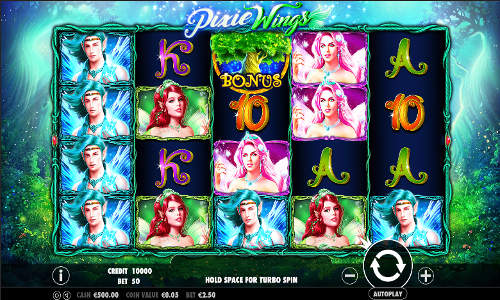 Pixie Wings free slot