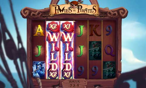 Pixies vs Piratesexpanding reels slot