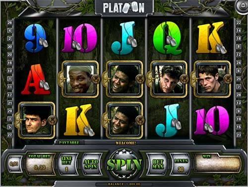 Platoon casino slot