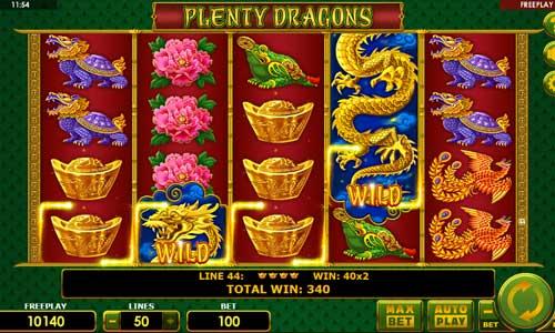 Plenty Dragons free slot