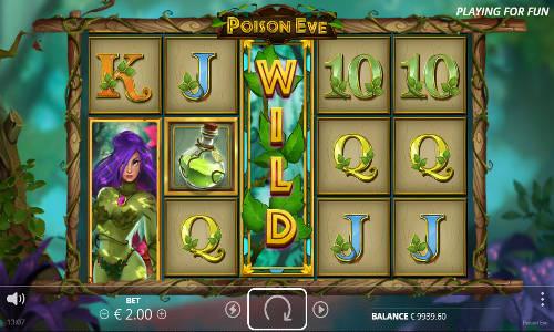 Poison Evesymbol upgrade slot