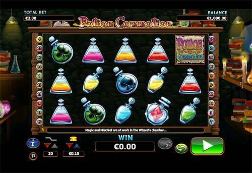 Potion Commotion free slot