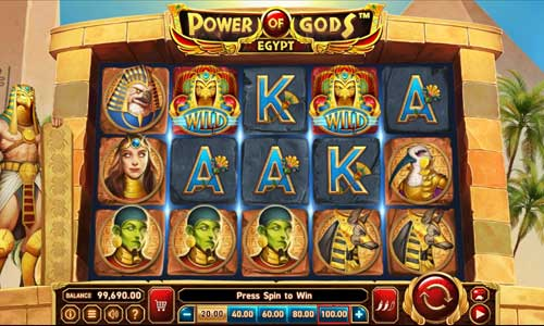 Power of Gods Egypt free slot