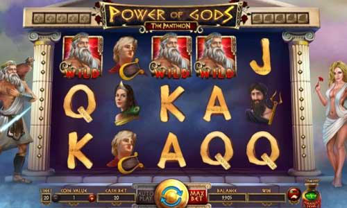 Power of Gods The Pantheon free slot