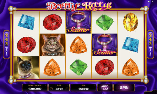 Pretty Kitty free slot