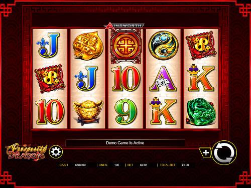 Prosperity Dragon free slot