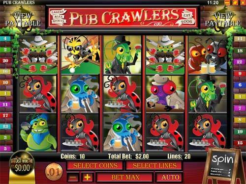 Pub Crawlers free slot