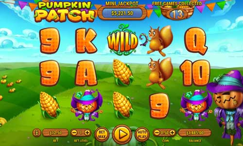 Pumpkin Patch free slot