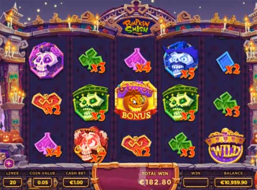 Pumpkin Smash free slot