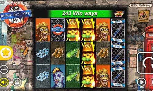 Punk Rocker free slot