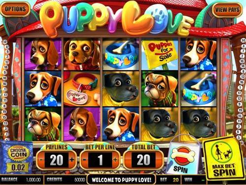 Puppy Love free slot