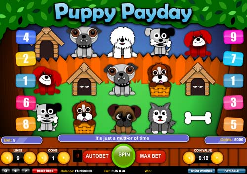 Puppy Payday free slot