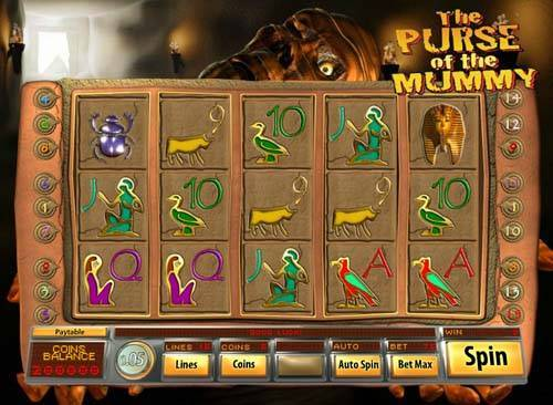 Purse of the Mummy slot