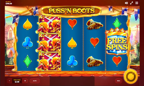 Pussn Boots free slot