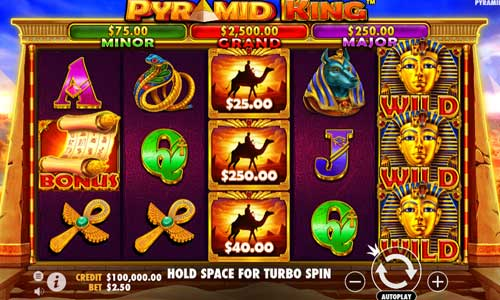 Pyramid Kingjackpot slot