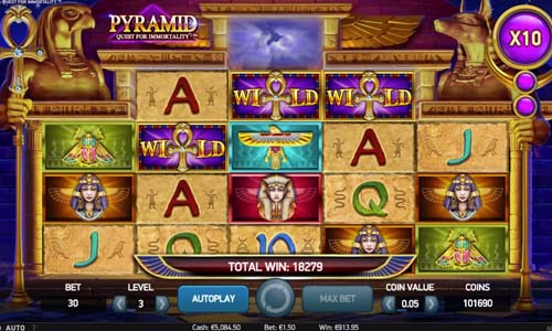 Pyramid Quest for Immortality casino slot