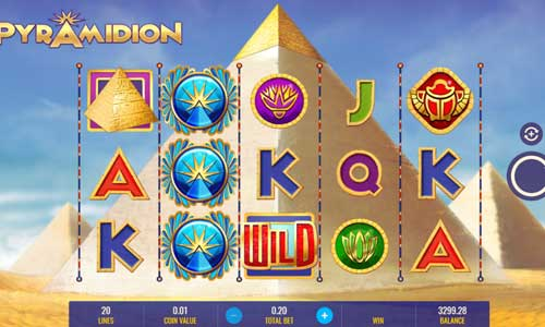 Pyramidioncolossal symbols slot