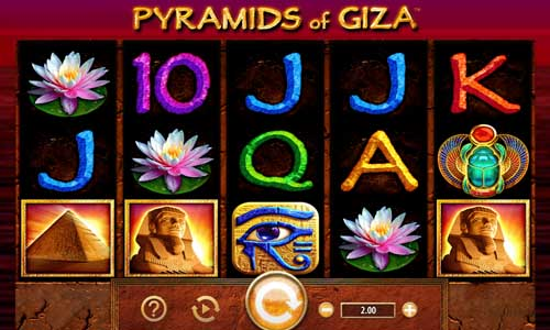Pyramids of Giza free slot