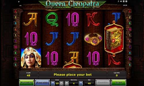 Queen Cleopatra free slot