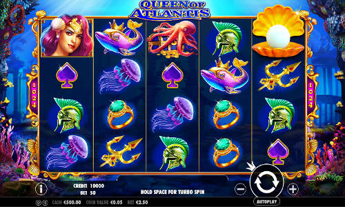 Queen of Atlantis free slot