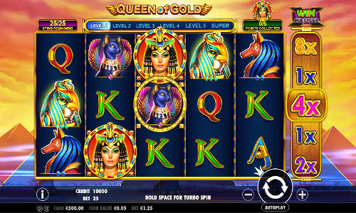 Queen of Gold free slot