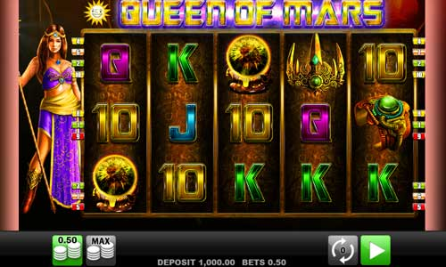 Queen of Mars free slot