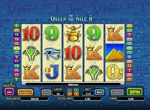 Queen of the Nile 2 free slot