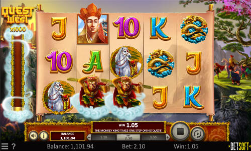 Quest to the West free slot