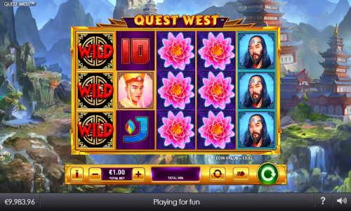 Quest West free slot