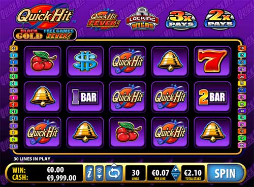 Quick Hit Black Gold free slot