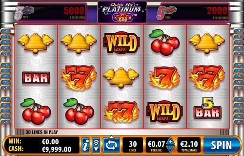 Quick Hit Platinum casino slot