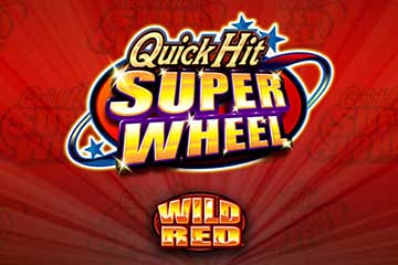 Quick Hit Super Wheel Wild Red slot Bally