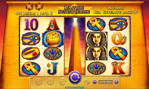 Ra and the Scarab Temple free slot