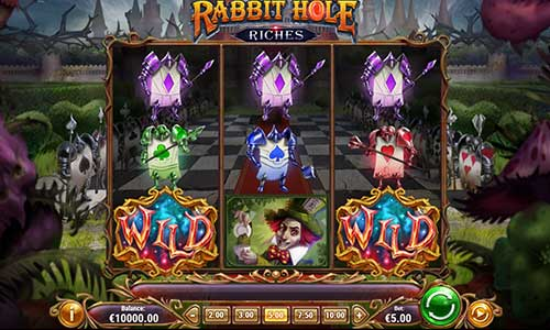Rabbit Hole Riches free slot