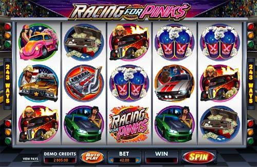 Racing For Pinks free slot