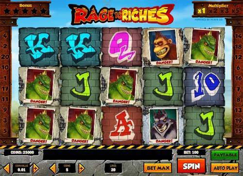 Rage to Riches free slot