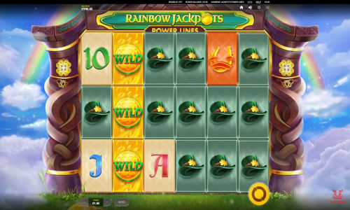 Rainbow Jackpots Power Lines free slot