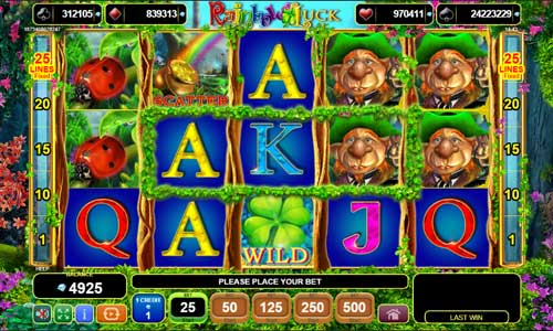 Rainbow Luckjackpot slot
