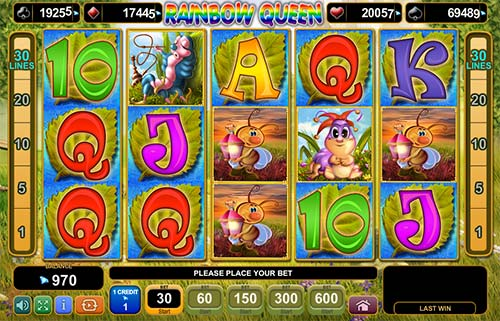 Rainbow Queen free slot