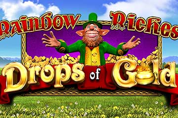 Rainbow Riches Drops of Gold free slot