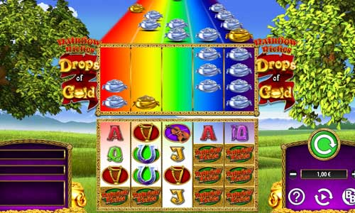 Rainbow Riches Drops of Gold casino slot
