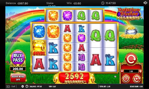 Rainbow Riches Megaways casino slot