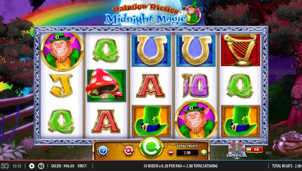 Rainbow Riches Midnight Magic free slot
