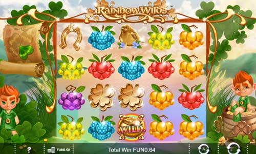 Rainbow Wilds free slot