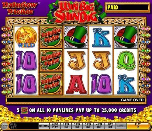 Rainbow Riches free slot