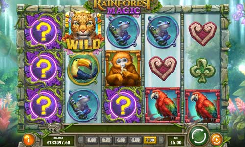 Rainforest Magic free slot