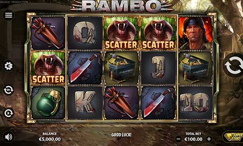 Rambo free slot