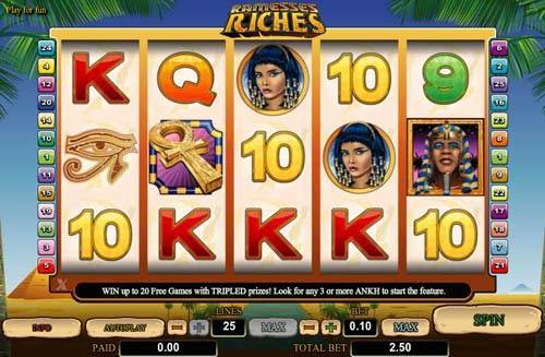 Ramesses Riches free slot