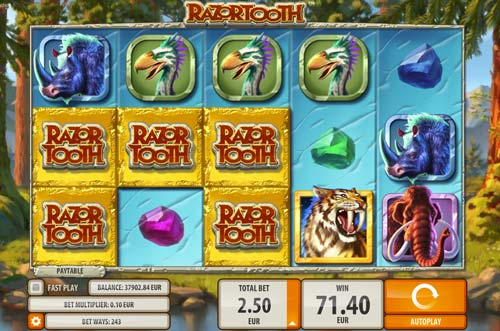 Razortooth slot