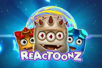 Reactoonz slot Playn Go